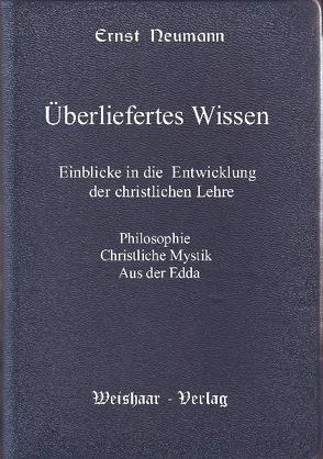 Überliefertes Wissen von Neumann,  Ernst