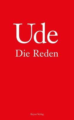 Ude – Die Reden von Hanitzsch,  Dieter, Ude,  Christian