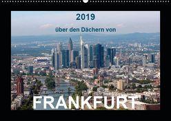 über den Dächern von FRANKFURT (Wandkalender 2019 DIN A2 quer) von & Kalenderverlag Monika Müller,  Bild-