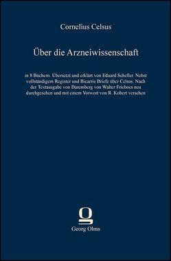 Über die Arzneiwissenschaft von Celsus,  Cornelius