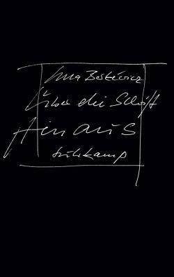 Über die Schrift hinaus von Berkéwicz,  Ulla