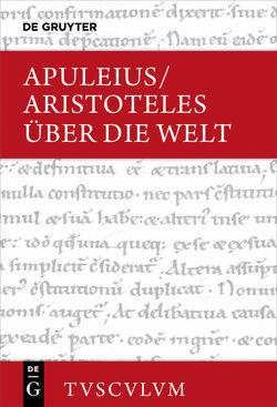 Über die Welt von Apuleius, Aristoteles, Brodersen,  Kai