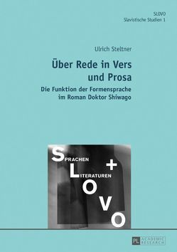 Über Rede in Vers und Prosa von Steltner,  Ulrich