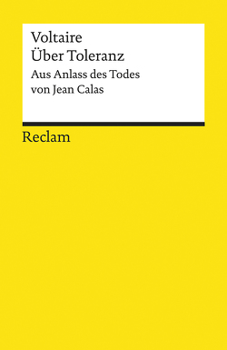 Über Toleranz von Bossier,  Ulrich, Voltaire