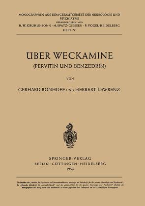 Über Weckamine von Bonhoff,  G., Lewrenz,  H.