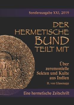 Über zeremonielle Sekten und Kulte aus Indien von Glasenapp,  H. von, Uiberreiter Verlag,  Christof