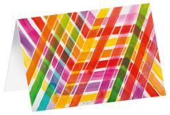 Überkreuz – Kunst-Faltkarten ohne Text (5 Stück) von Felger,  Andreas