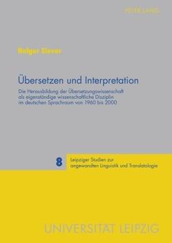 Übersetzen und Interpretation von Siever,  Holger