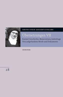 Übersetzungen VII von Beckmann-Zöller,  Beate, Dobhan,  Ulrich, Gerl-Falkovitz,  Hanna-Barbara, Stein,  Edith