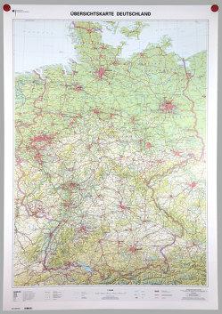 Übersichtskarte Deutschland 1:750000 von BKG - Bundesamt für Kartographie und Geodäsie