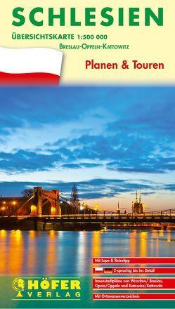 Übersichtskarte Schlesien – PL 111 von Höfer,  Lars