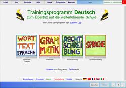 Übertrittstraining Deutsch – Schullizenz für PC und Tablets 3 Jahre, updatefähig