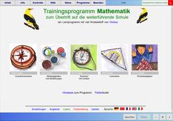 Übertrittstraining Mathematik – Schullizenz für PC und Tablets 3 Jahre, updatefähig
