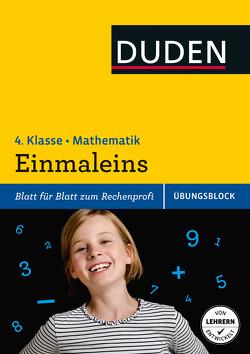 Übungsblock: Mathematik – Einmaleins, 4. Klasse – bis 1.000.000 von Müller-Wolfangel,  Ute, Schreiber,  Beate, Stephan,  Claus