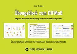 Übungsblock zum DIFMaB (Diagnostisches Inventar zur Förderung mathematischer Basiskompetenzen) von de Vries,  Carin