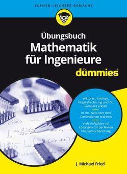 Übungsbuch Mathematik für Ingenieure für Dummies von Fried,  J. Michael