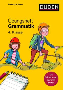 Übungsheft – Grammatik 4. Klasse von Geipel,  Maria, Leuchtenberg,  Stefan