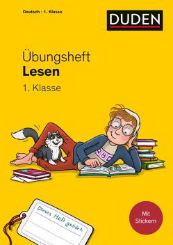 Übungsheft – Lesen 1. Klasse von Bors,  Natalie, Leuchtenberg,  Stefan