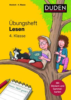 Übungsheft – Lesen 4. Klasse von Leuchtenberg,  Stefan, Wimmer,  Andrea