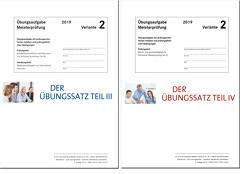 Übungssatz Teil III u. IV von Gress,  Bernhard, Semper,  Dr. Lothar