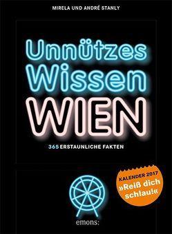 Ünnützes Wissen Wien von Stanly,  André, Stanly,  Mirela