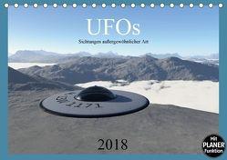 UFOs – Sichtungen außergewöhnlicher Art (Tischkalender 2018 DIN A5 quer) von Schilling,  Linda
