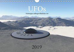 UFOs – Sichtungen außergewöhnlicher Art (Wandkalender 2019 DIN A4 quer) von Wlotzka und Linda Schilling,  Michael