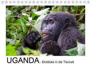 UGANDA – Einblicke in die Tierwelt (Tischkalender 2020 DIN A5 quer) von Jürs,  Thorsten