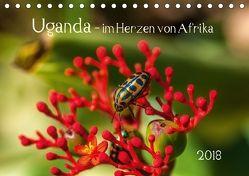 Uganda – im Herzen von Afrika (Tischkalender 2018 DIN A5 quer) von Bethke,  Barbara