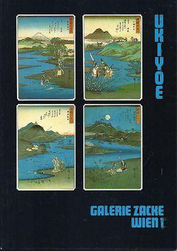 UKIYOE Ausstellungskatalog 17., 18. und 19.Jh von Zacken,  Wolfmar