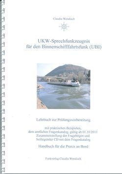 UKW-Sprechfunkzeugnis für den Binnenschifffahrtsfunk (UBI) von Wendisch,  Claudia