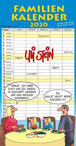 Uli Stein Familienkalender 2020 von Stein,  Uli
