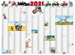 Uli Stein – Kalenderkarte 2021 von Stein,  Uli