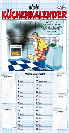 Uli Stein – Küchenkalender 2021: Monatskalender für die Wand von Stein,  Uli