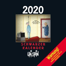 Uli Stein Schwarzer Kalender 2020 von Stein,  Uli