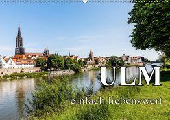 Ulm einfach liebenswert (Wandkalender 2019 DIN A2 quer) von Baumert,  Frank