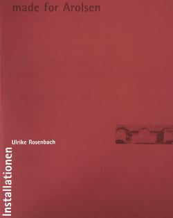 Ulrike Rosenbach. made for Arolsen von Glüher,  Gerhard