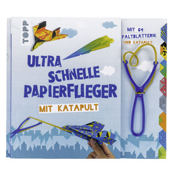 Ultra schnelle Papierflieger mit Katapult von Meißner,  Dominik
