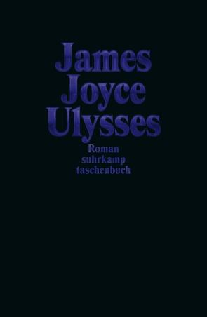 Ulysses Sonderausgabe Dunkelblau von Joyce,  James, Wollschläger,  Hans
