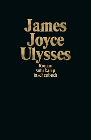 Ulysses Sonderausgabe Gold von Joyce,  James, Wollschläger,  Hans