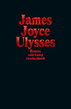Ulysses Sonderausgabe Rot von Joyce,  James, Wollschläger,  Hans