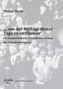 """""""…um der Notlage dieser Tage zu entfliehen"""" von Strobl,  Philipp"""
