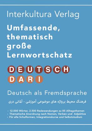 Umfassender thematischer Großlernwortschatz – Deutsch-Dari