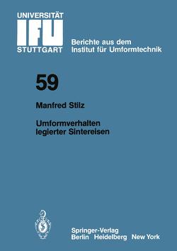Umformverhalten legierter Sintereisen von Stilz,  M.