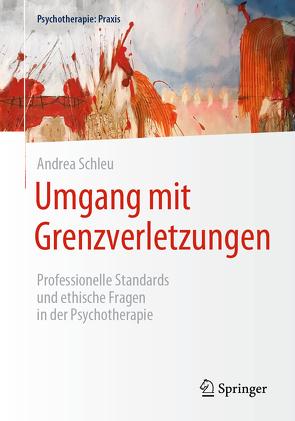 Umgang mit Grenzverletzungen von Schleu,  Andrea, Tschan,  Werner