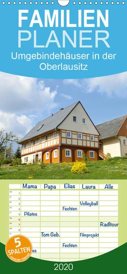 Umgebindehäuser in der Oberlausitz – Familienplaner hoch (Wandkalender 2020 , 21 cm x 45 cm, hoch) von Jähne,  Karin