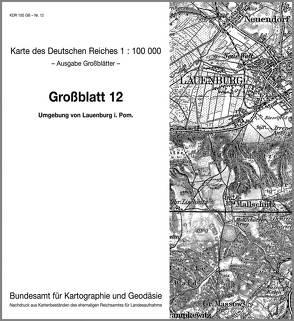Umgebung von Lauenburg in Pommern