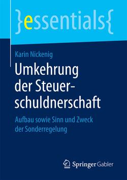 Umkehrung der Steuerschuldnerschaft von Nickenig,  Karin