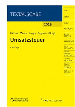 Umsatzsteuer von Küffner,  Thomas, Langer,  Ronny, Maunz,  Stefan, Zugmaier,  Oliver