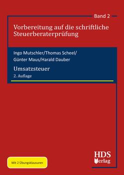 Umsatzsteuer von Dauber,  Harald, Maus,  Günter, Mutschler,  Ingo, Scheel,  Thomas